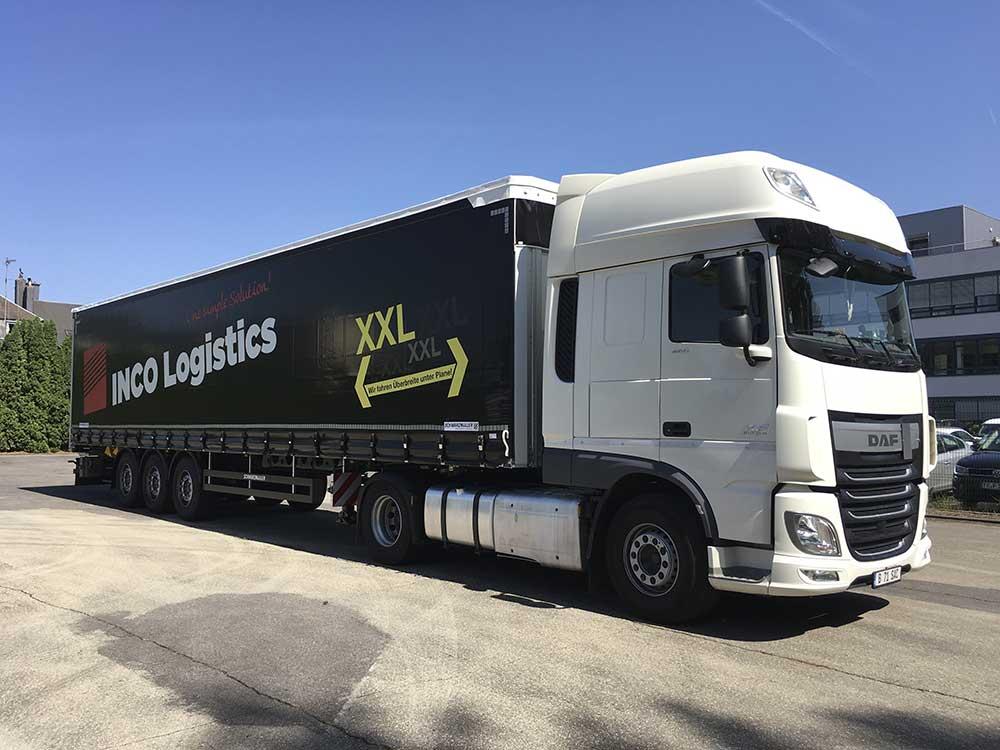 Auflieger INCO Logistics